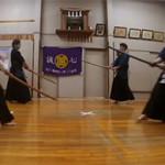 剣道型や基本打ちを毎週稽古できます。昇段審査をお考えの方は是非!