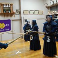 尾崎七段と高松七段が稽古に参加してくださいました。