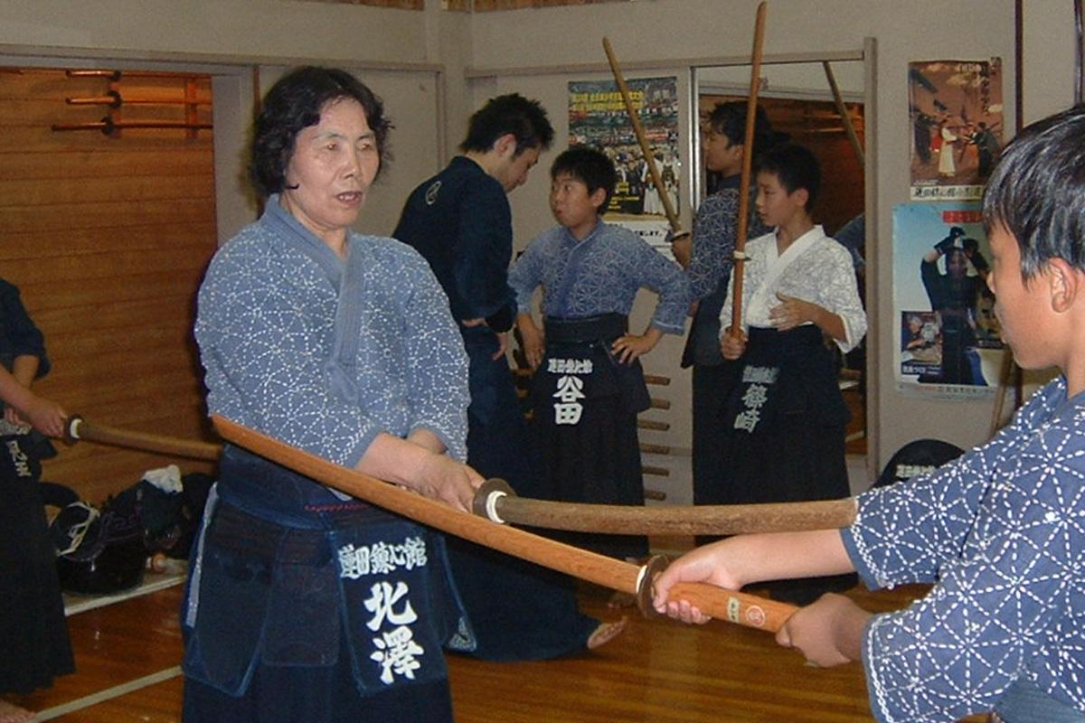 ママさん剣道のイメージ